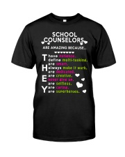 School Counselors are Amazing Classic T-Shirt thumbnail