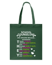 School Counselors are Amazing Tote Bag thumbnail