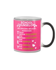 School Counselors are Amazing Color Changing Mug thumbnail