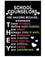 School Counselors are Amazing 24x36 Poster thumbnail