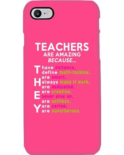 Teachers are amazing