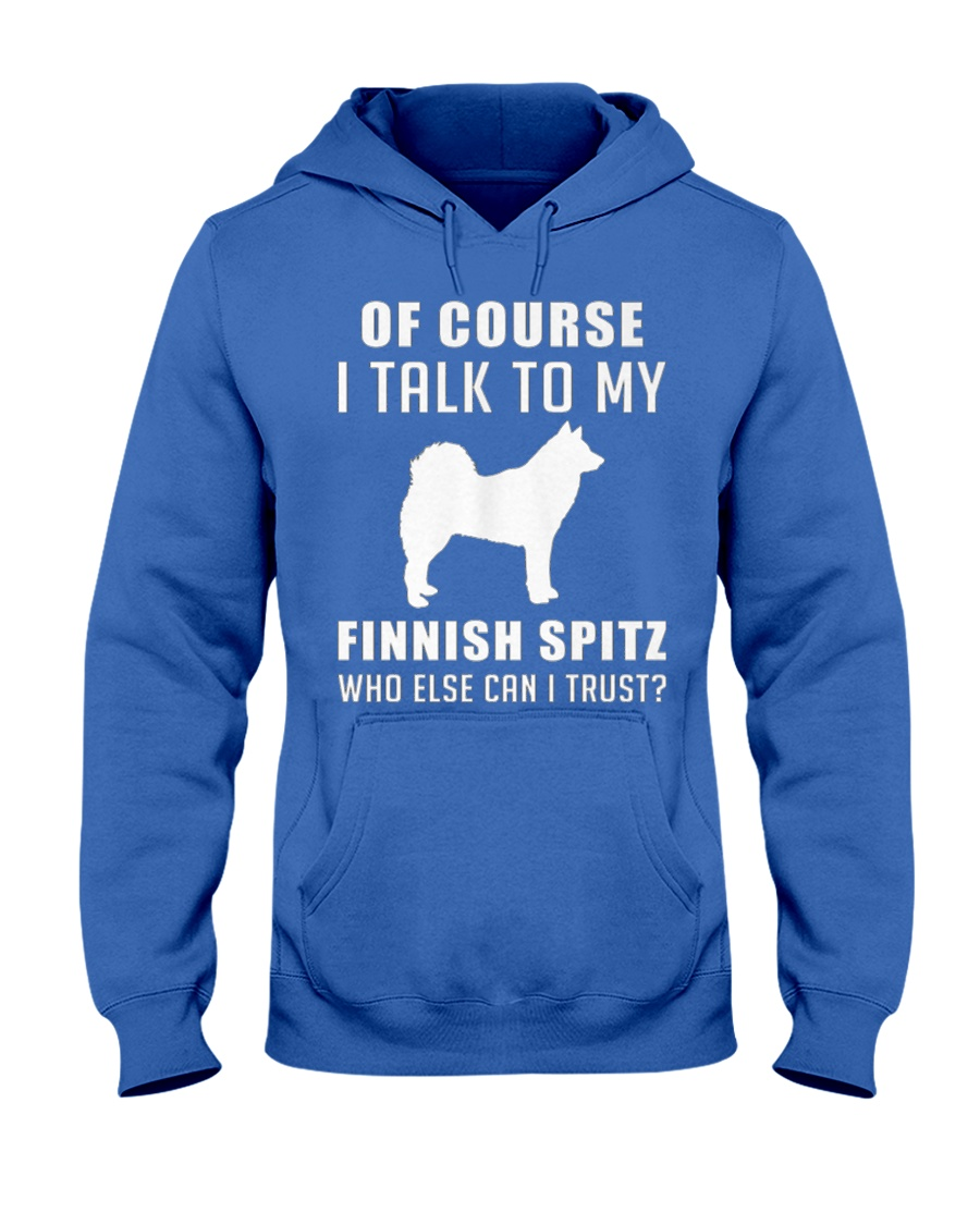 Finnish Spitz MenX27S Pr 17 Hooded Sweatshirt