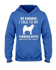Finnish Spitz MenX27S Pr 17 Hooded Sweatshirt front