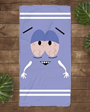 Premium - Quick-Dry and Ultra Soft  Beach Towel aos-towelbeach-vertical-front-lifestyle-1