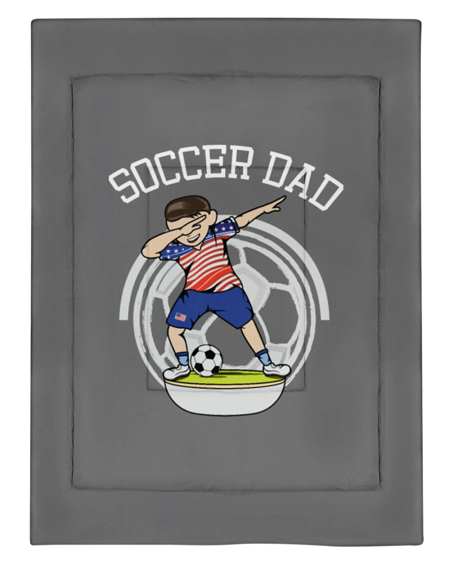 Championship Soccer USA Team Father's Day fun gi Comforter - Twin XL