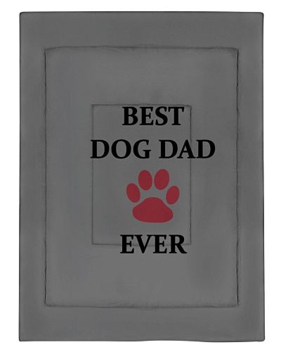 Best Dog Dad Ever Fathers Day Paw Gift