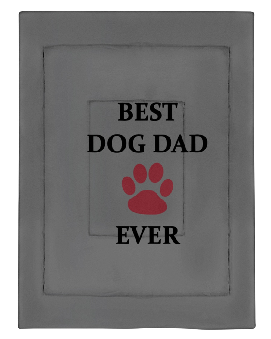Best Dog Dad Ever Fathers Day Paw Gift Comforter - Twin XL