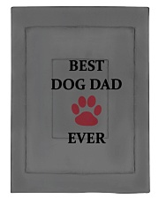 Best Dog Dad Ever Fathers Day Paw Gift Comforter - Twin XL front