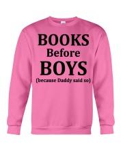 Books Before Boys Crewneck Sweatshirt thumbnail