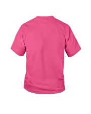 Books Before Boys Youth T-Shirt back