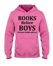 Books Before Boys Hooded Sweatshirt thumbnail