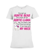 I'm not an Auntie bear - MNAN Premium Fit Ladies Tee thumbnail