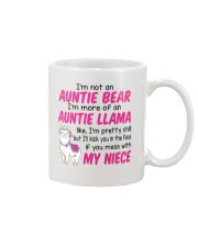 I'm not an Auntie bear - MNAN Mug thumbnail