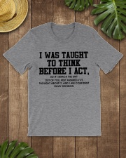 I Was Taught fr Classic T-Shirt lifestyle-mens-crewneck-front-18