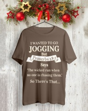 I Wanted Jogging Classic T-Shirt lifestyle-holiday-crewneck-front-2