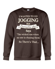 I Wanted Jogging Crewneck Sweatshirt thumbnail