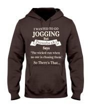 I Wanted Jogging Hooded Sweatshirt thumbnail