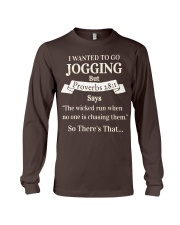 I Wanted Jogging Long Sleeve Tee tile