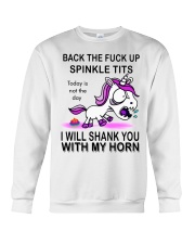 Back  The  - Today is not the day Crewneck Sweatshirt thumbnail
