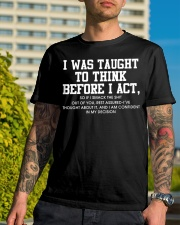 I was  taught Shirt Classic T-Shirt lifestyle-mens-crewneck-front-8