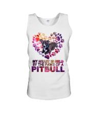 Pit bull  Unisex Tank thumbnail