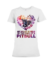 Pit bull  Premium Fit Ladies Tee tile