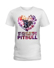 Pit bull  Ladies T-Shirt thumbnail