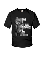 SAVE A PIT BULL Youth T-Shirt thumbnail