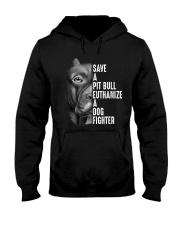 SAVE A PIT BULL Hooded Sweatshirt thumbnail