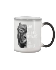 SAVE A PIT BULL Color Changing Mug thumbnail