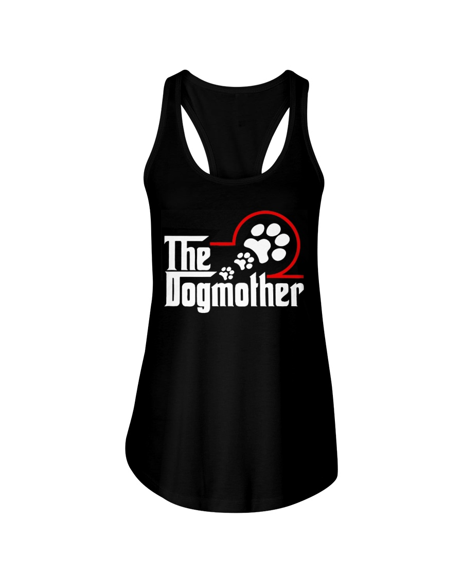 THE DOG MOTHER Ladies Flowy Tank