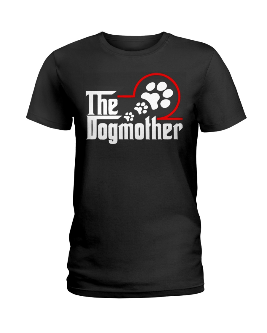 THE DOG MOTHER Ladies T-Shirt