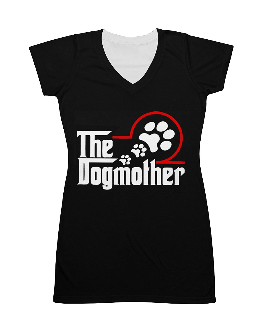 THE DOG MOTHER All-over Dress