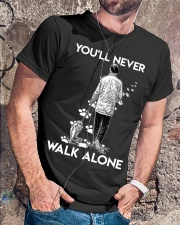 You'll never walk alone Classic T-Shirt lifestyle-mens-crewneck-front-4