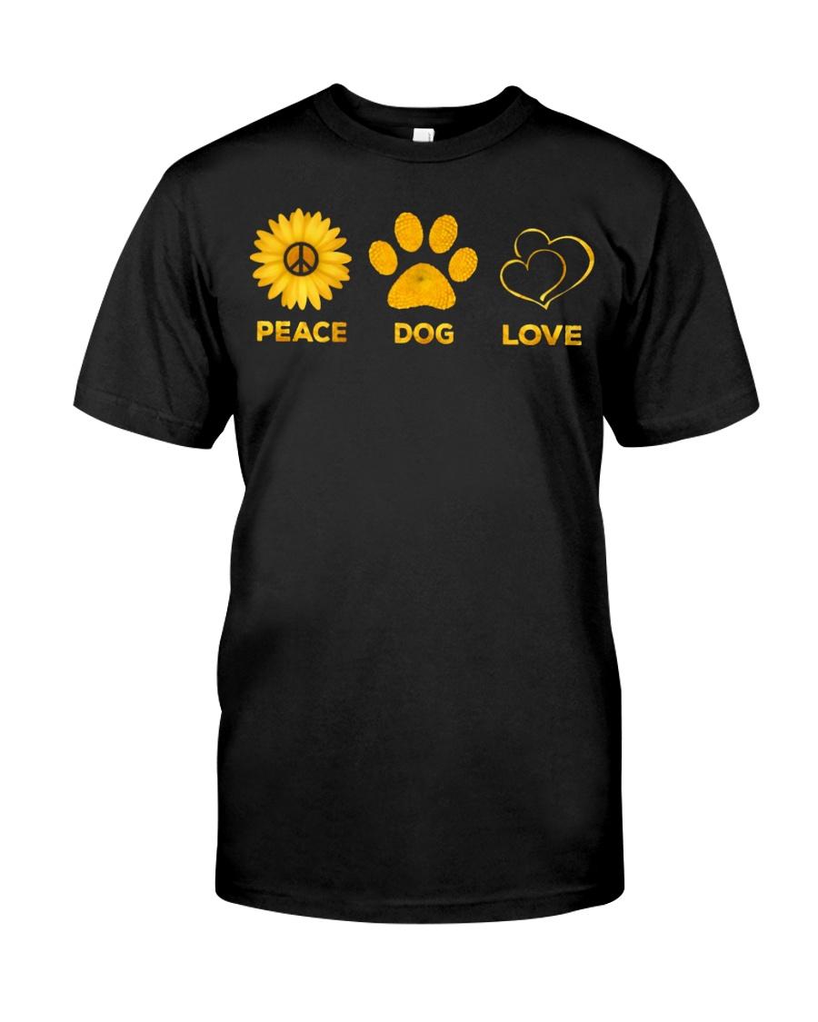 PEACE - DOG - LOVE