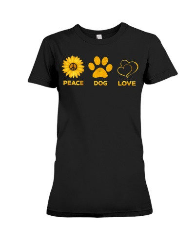 PEACE - DOG - LOVE