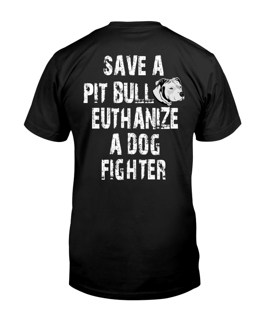 SAVE A PITBULL Classic T-Shirt