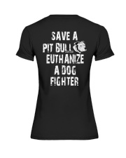 SAVE A PITBULL Premium Fit Ladies Tee thumbnail