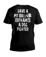 SAVE A PITBULL V-Neck T-Shirt thumbnail