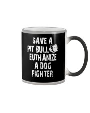SAVE A PITBULL Color Changing Mug thumbnail