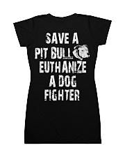 SAVE A PITBULL All-over Dress thumbnail