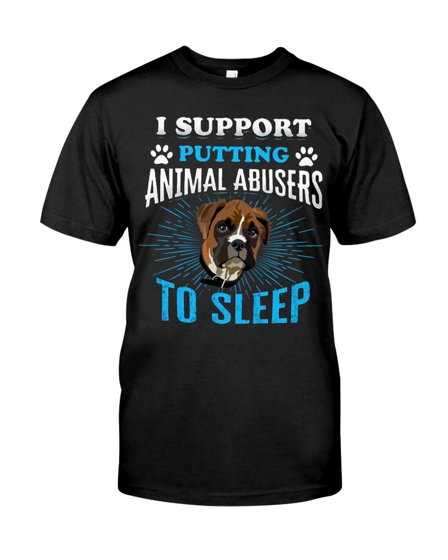 I support putting animal abusers to sleep