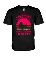 Pit Bull V-Neck T-Shirt thumbnail