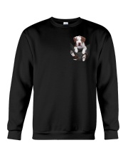 Pit bull  - Brown Pit bull Inside Pocket  Crewneck Sweatshirt thumbnail