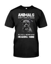 Help Animals Classic T-Shirt front