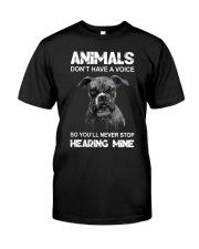 Help Animals Classic T-Shirt thumbnail