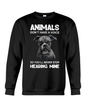 Help Animals Crewneck Sweatshirt thumbnail