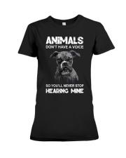 Help Animals Premium Fit Ladies Tee thumbnail
