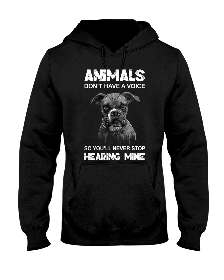 Help Animals Hooded Sweatshirt