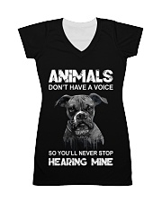 Help Animals All-over Dress thumbnail